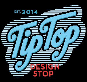 TipTop Design Stop Logo