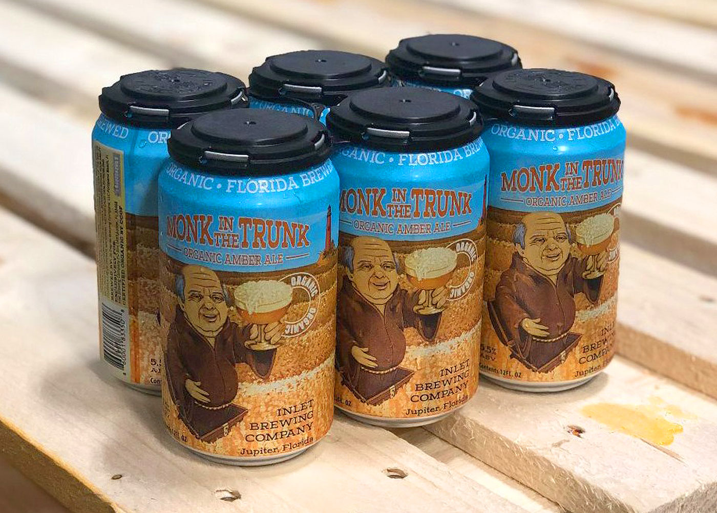 Beer Can & Sales Sheet – Monk in the Trunk
