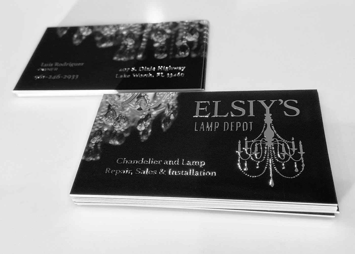Elsiy's Lamp Depot – Logo and Business Card