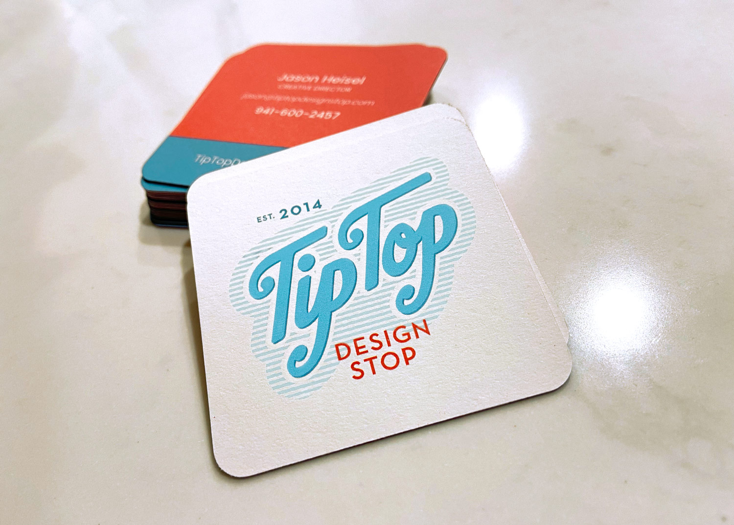 New Tip Top Business Cards
