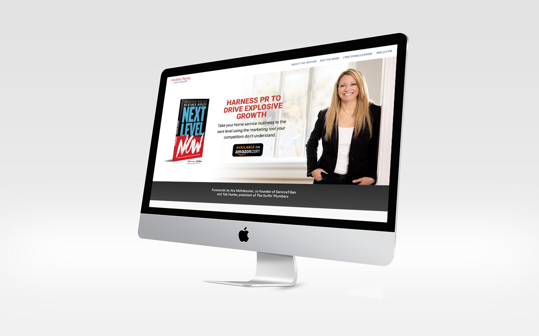 Heather Ripley book (Next Level Now) website