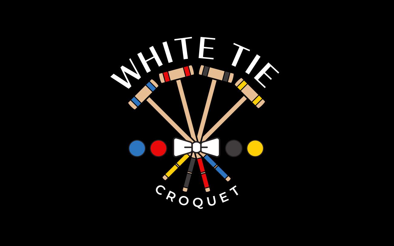 White Tie Croquet – Logo Design