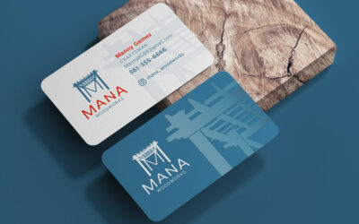 Mana Woodworks – Logo and Business Card