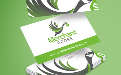 Merchant Goose Logo & Business Cards